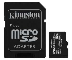 KINGSTON CANVAS SELECT+ 16 Gb