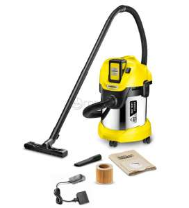 KARCHER WD 3 BATTERY PREMIUM SET container sac