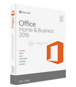 MICROSOFT OFFICE MAC HOME BUSINESS 2016 engleză nelimitat