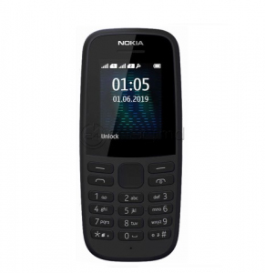 NOKIA 105 (2019) DS Black 4 MB