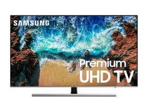 "SAMSUNG UE55AU8000UXUA 55"" smart TV Bluetooth"